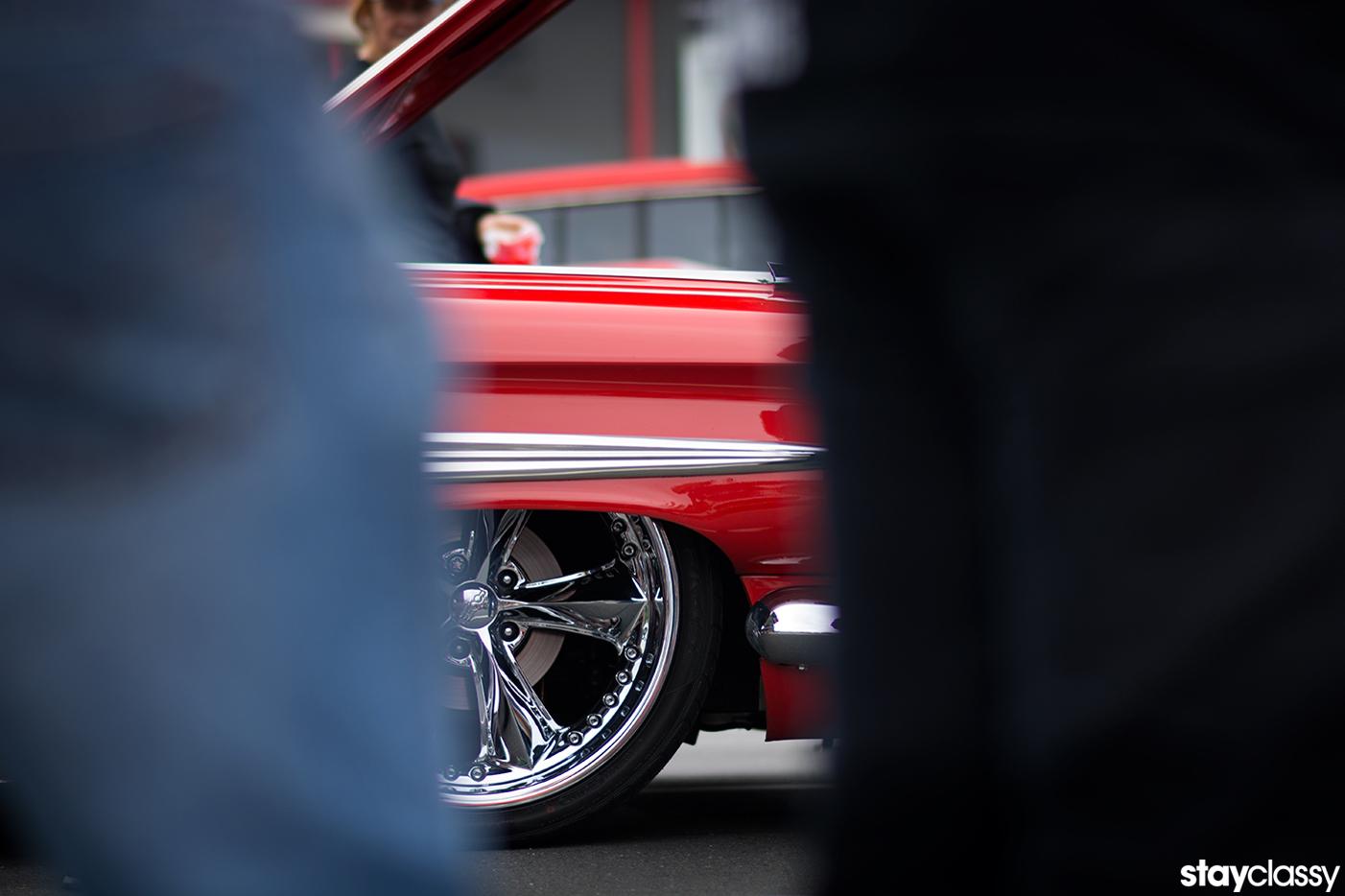 StayClassy Classic Car 22inch Chrome